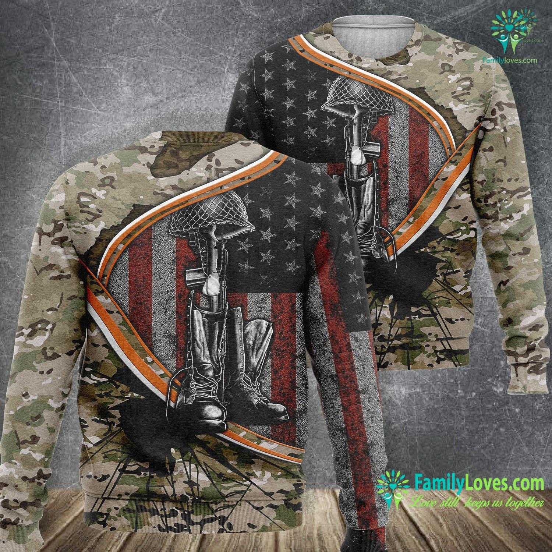 Us Army Veteran 3D All Over Printed Sweatshirt Familyloves.com