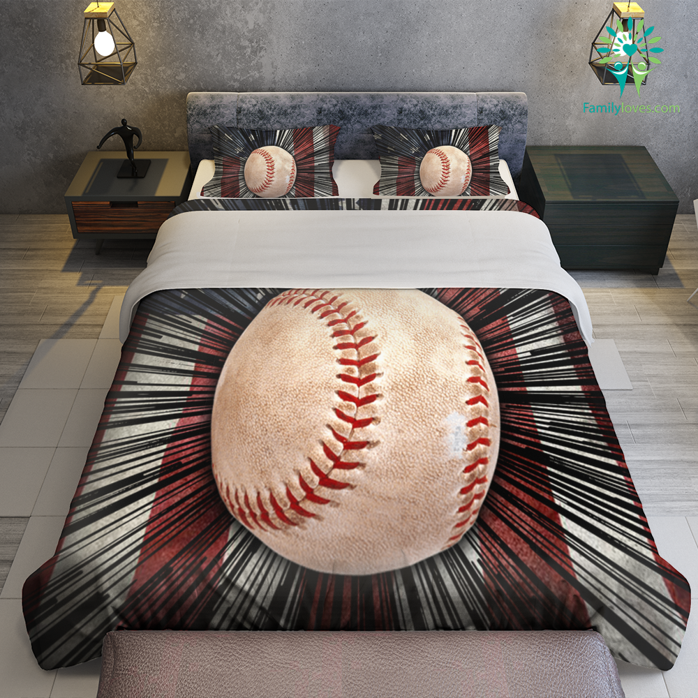 Baseball American Bedding Sets Familyloves.com