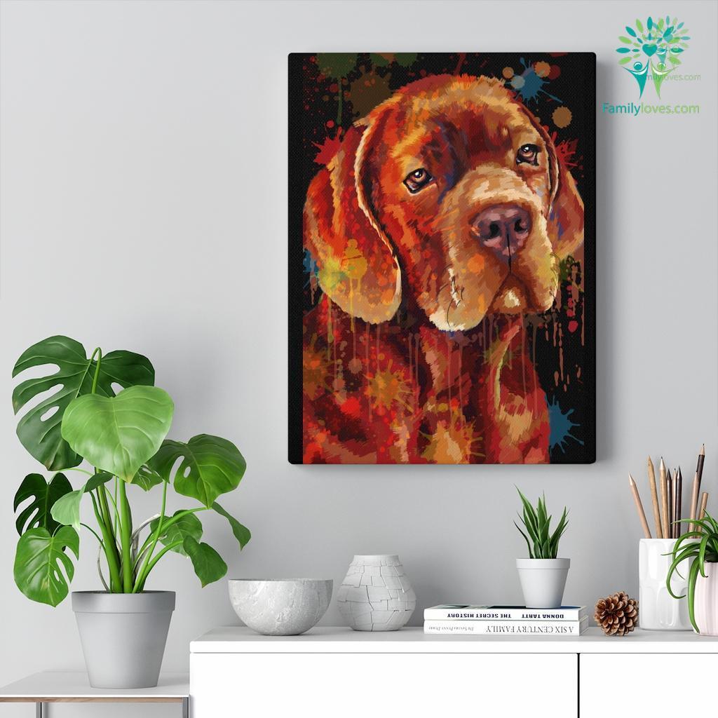 Cane Corso Dog colorful canvas Familyloves.com
