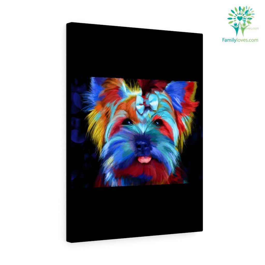 Custom Dog Canvas 2 Familyloves.com