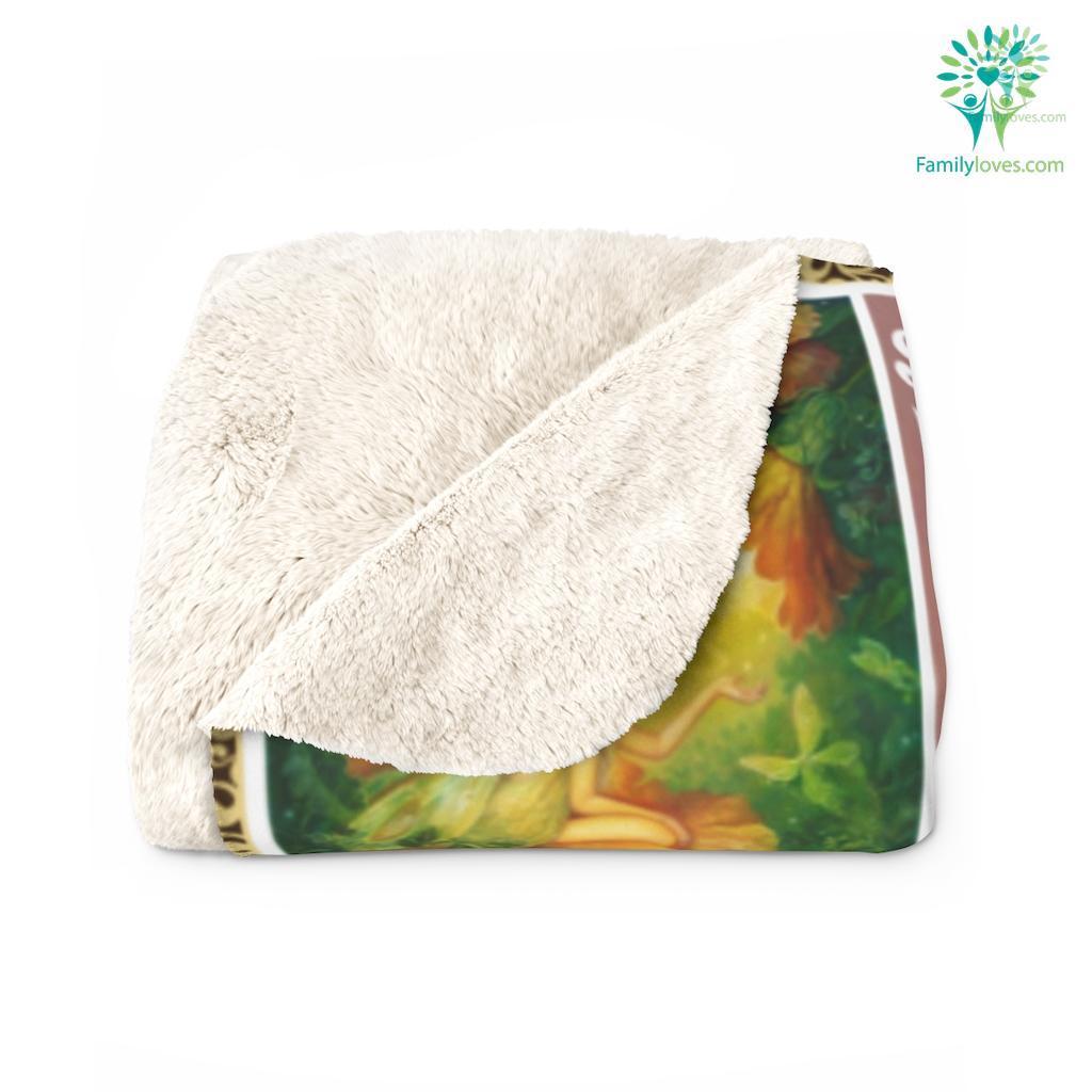 Go Where Your Dreams Take You, Fairy Np Sherpa Fleece Blanket Familyloves.com