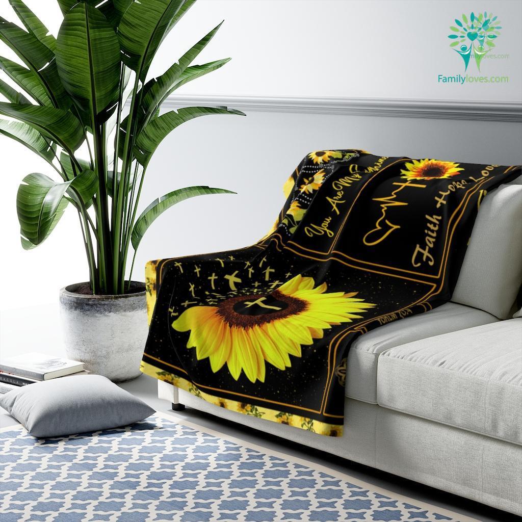 In The Morning When I Rise Give Me Jesus Sherpa Fleece Blanket Familyloves.com