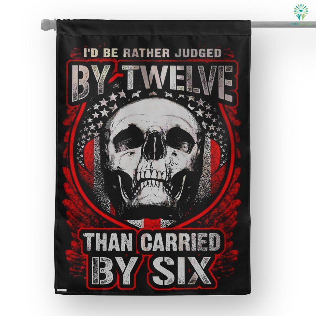 Gun Control Judged By Twelve House Flag  House Flag- Nichefamily.com