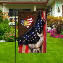 Faith Family Freedom American Garden Flag  Garden Flag- Nichefamily.com