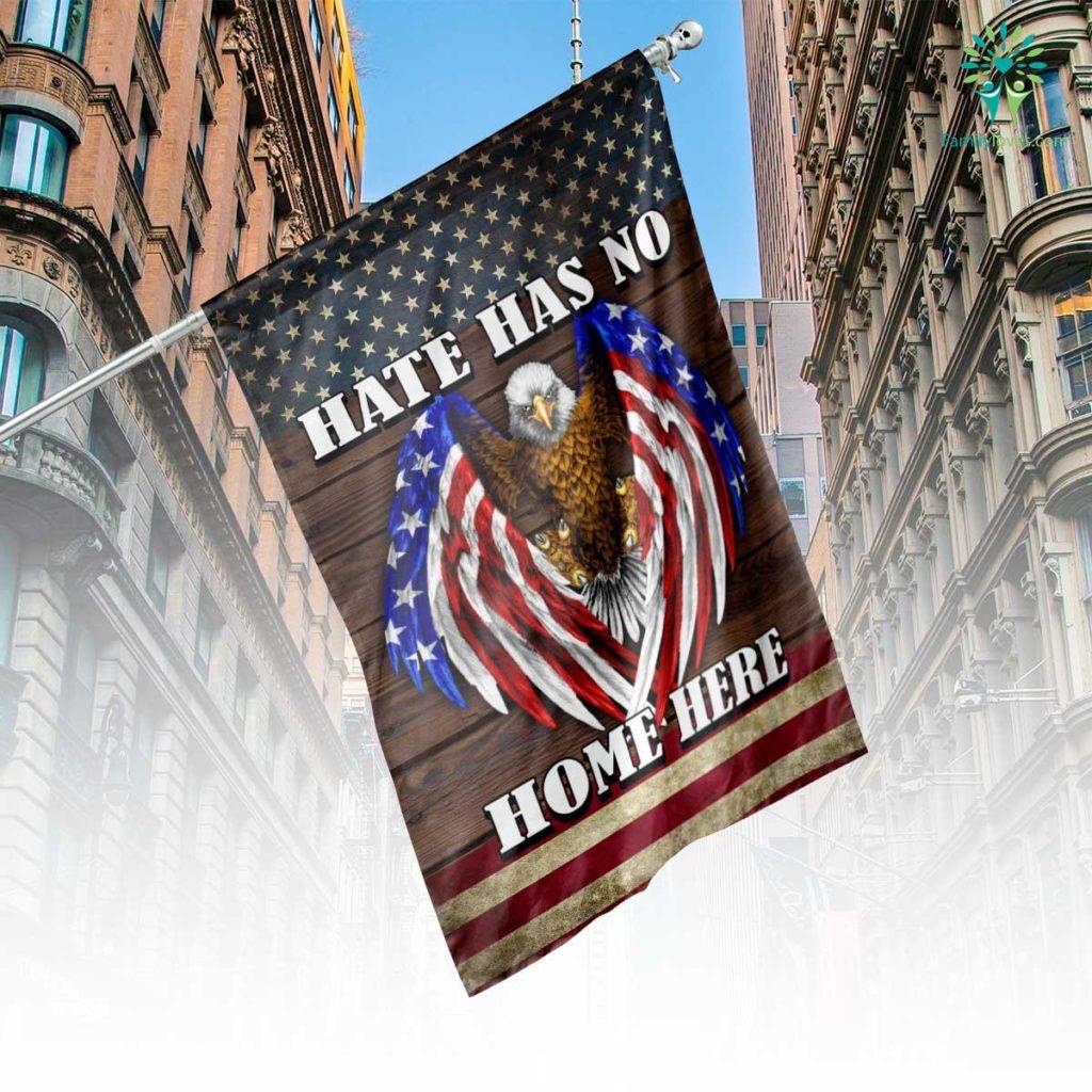 Hate Has No Home Here House Flag  House Flag- Nichefamily.com