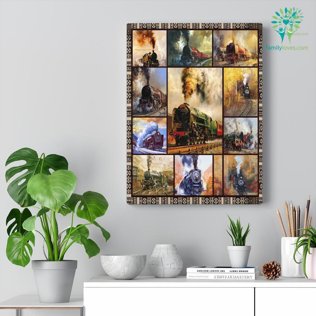 Ll Train Canvas Familyloves.com
