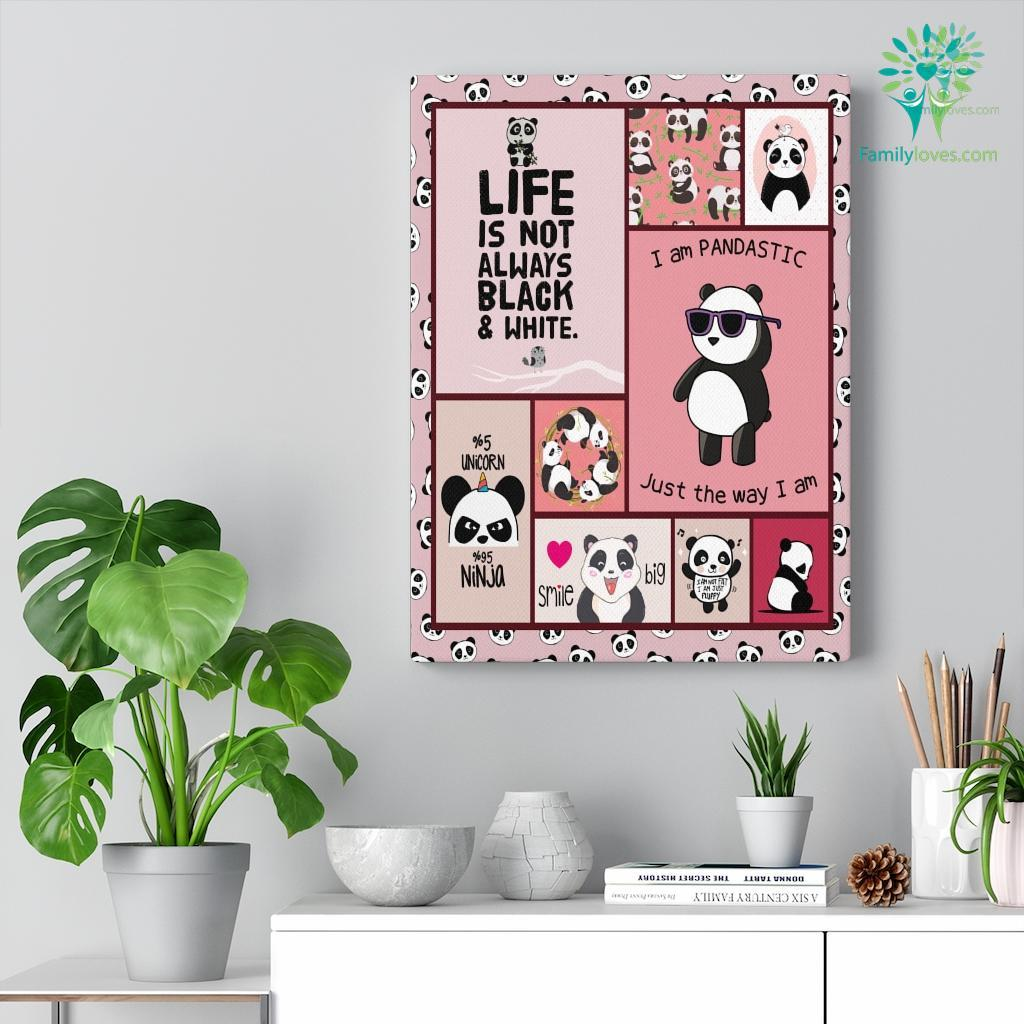 Panda Au O Canvas Familyloves.com