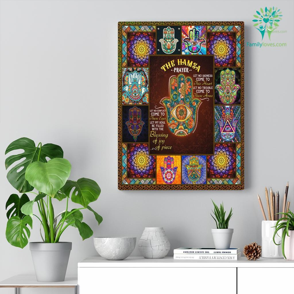 The Hamasa Canvas Familyloves.com