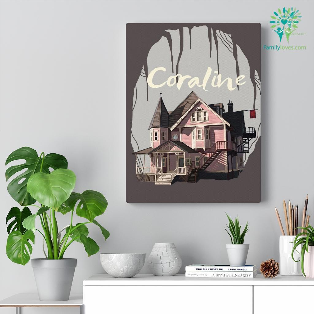 Coraline Canvas Familyloves.com