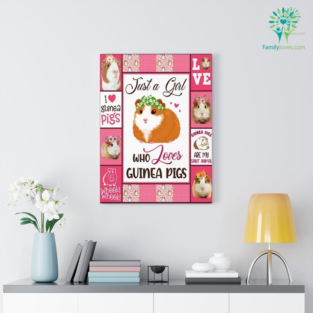 Guinea Pigs Canvas Familyloves.com