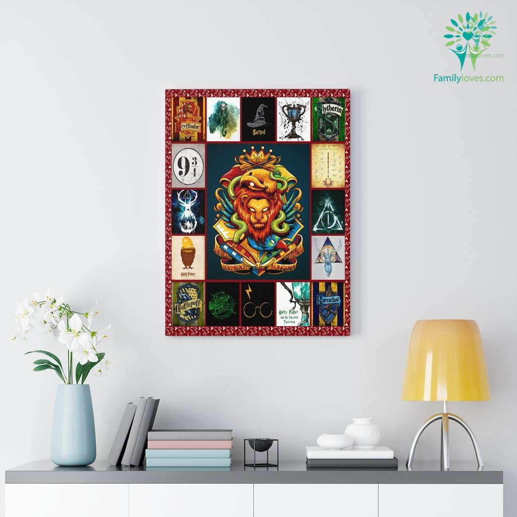 Harry Potter Canvas Familyloves.com