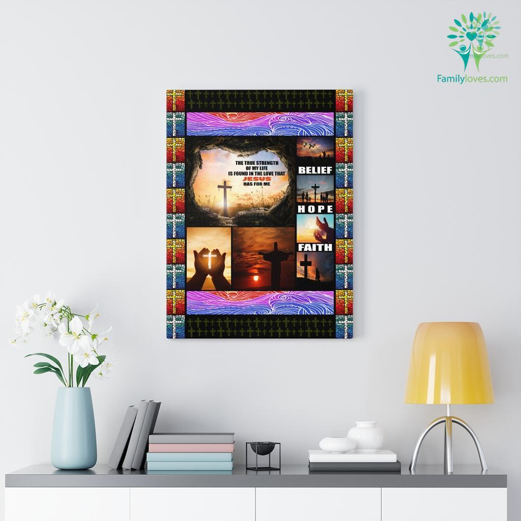 I Love Jesus Canvas Familyloves.com