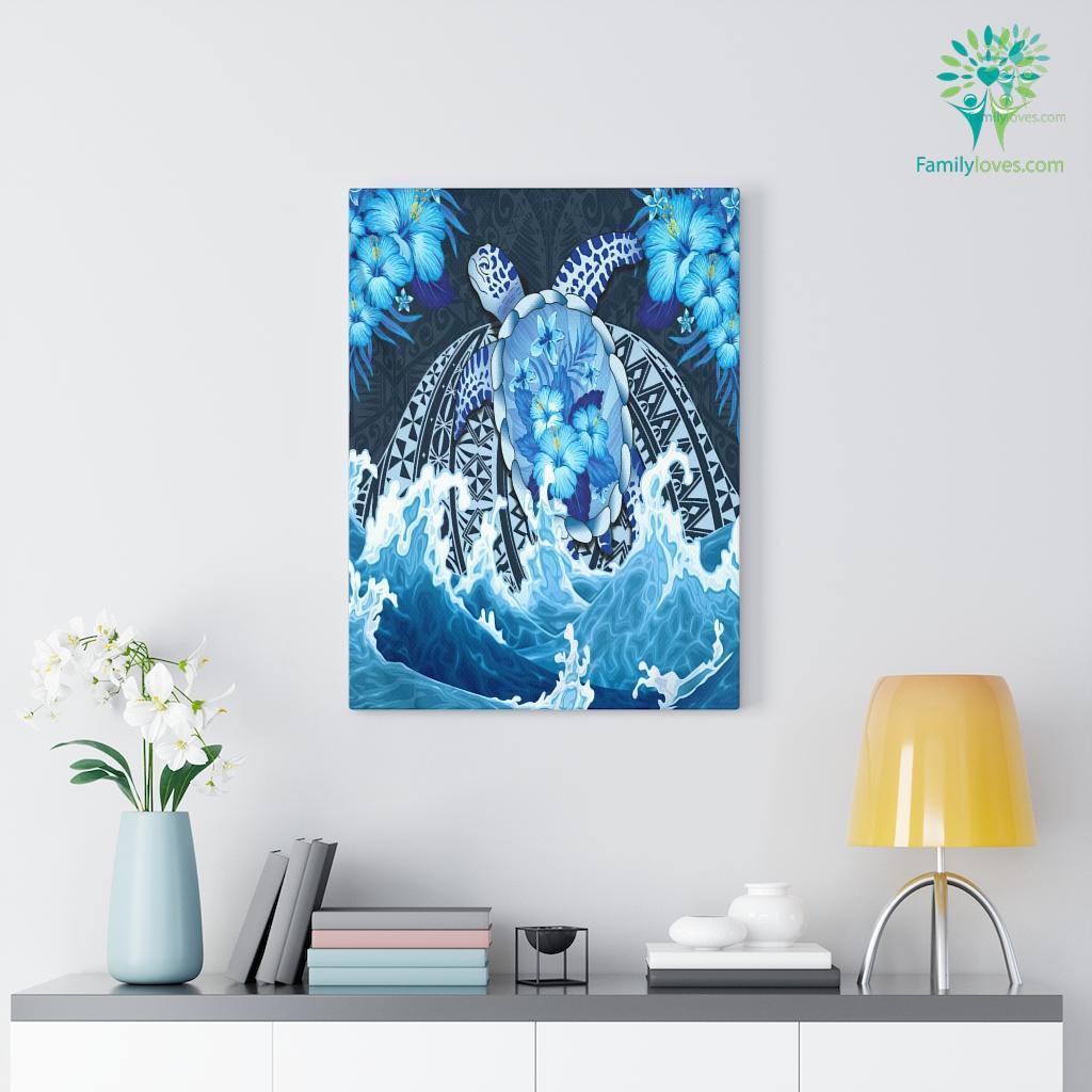 Sea Turtle Canvas Familyloves.com