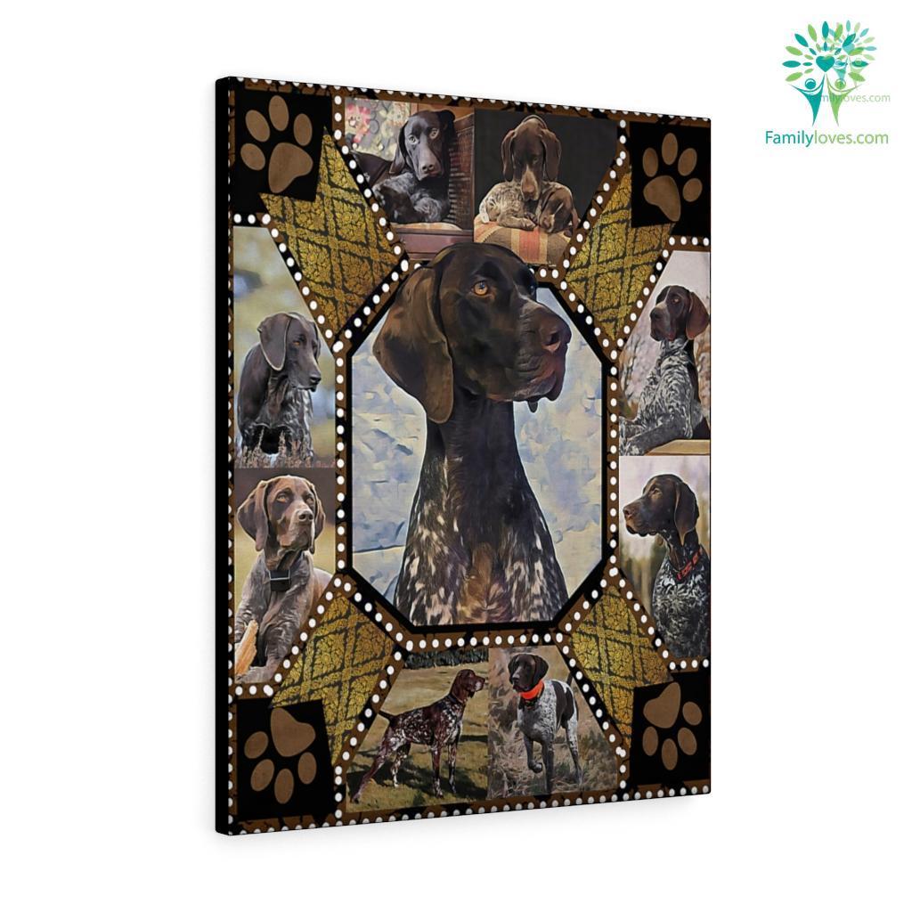 Black Dog Canvas Familyloves.com
