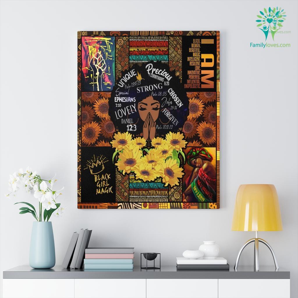 Black Live Matter Black Woman For Sale Canvas Familyloves.com