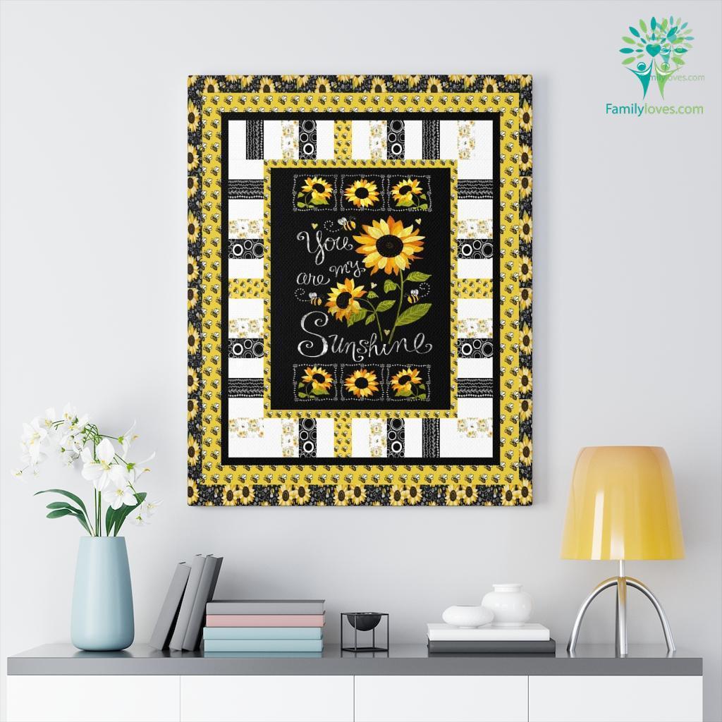 You Are My Sunshine Canvas Familyloves.com