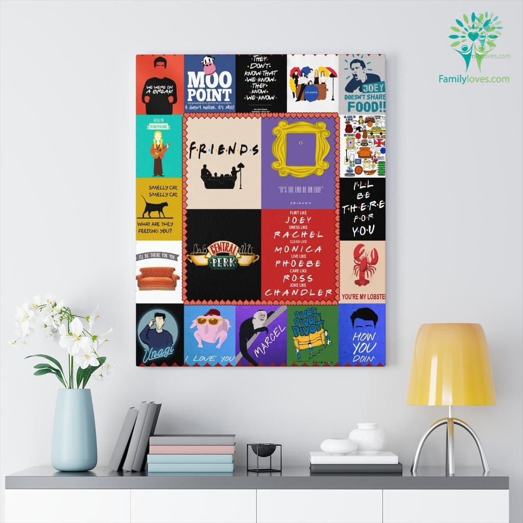 Friend Family Canvas Familyloves.com