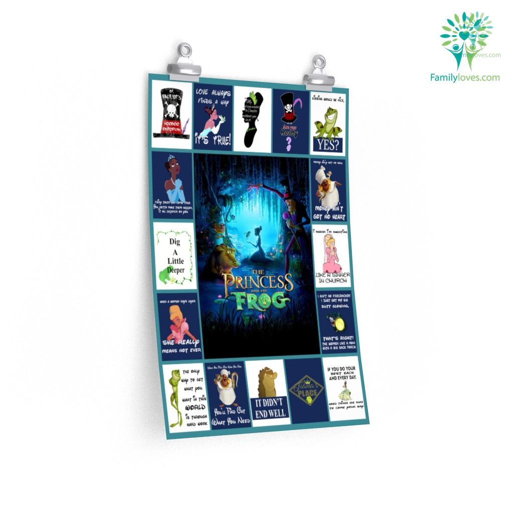 The Princess And The Frog Premium Posters Familyloves.com