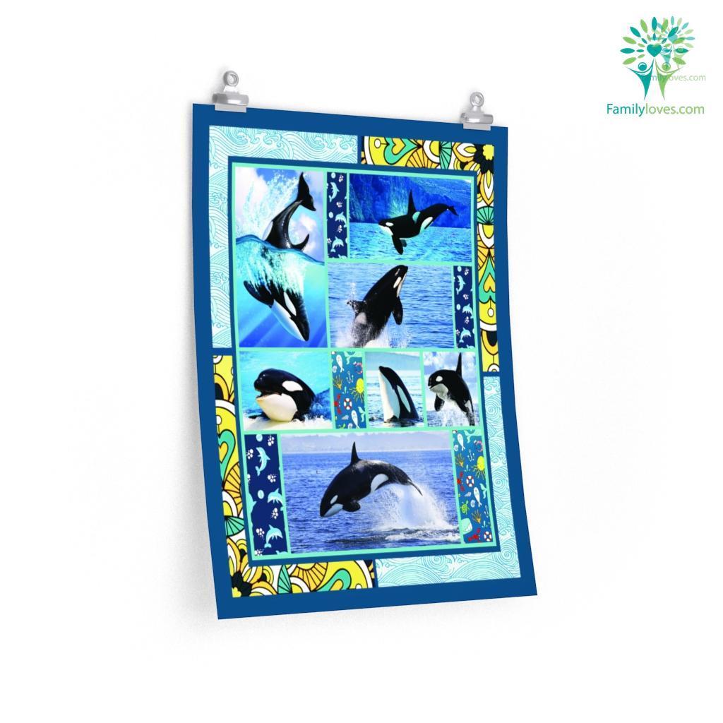 Orca Whale Killer Posters Familyloves.com