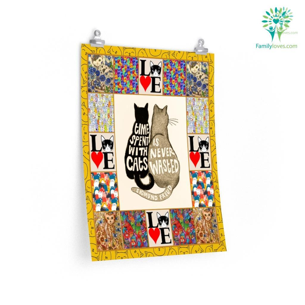 Cat Great Gift For Fans Posters Familyloves.com