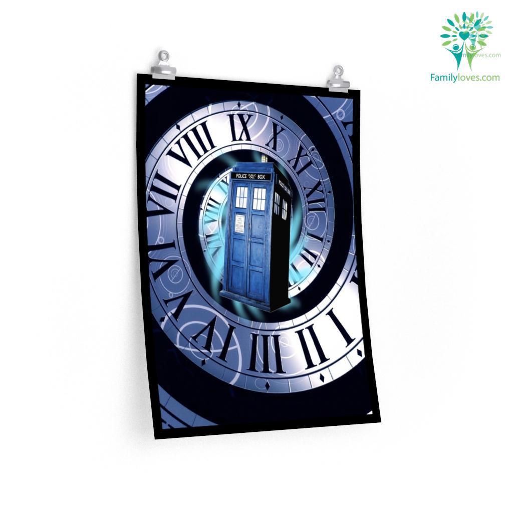 Doctor Who Tardis Posters Familyloves.com