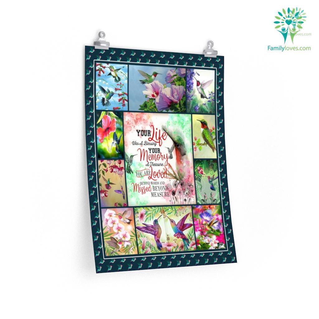 Anh Hummingbird Printing Posters Familyloves.com
