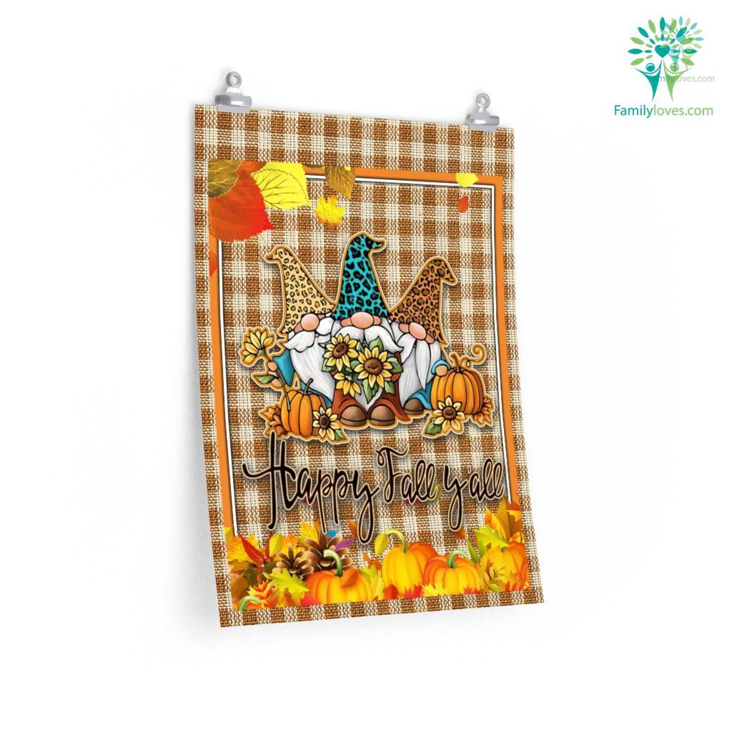 Happy Fall Yall Posters Familyloves.com
