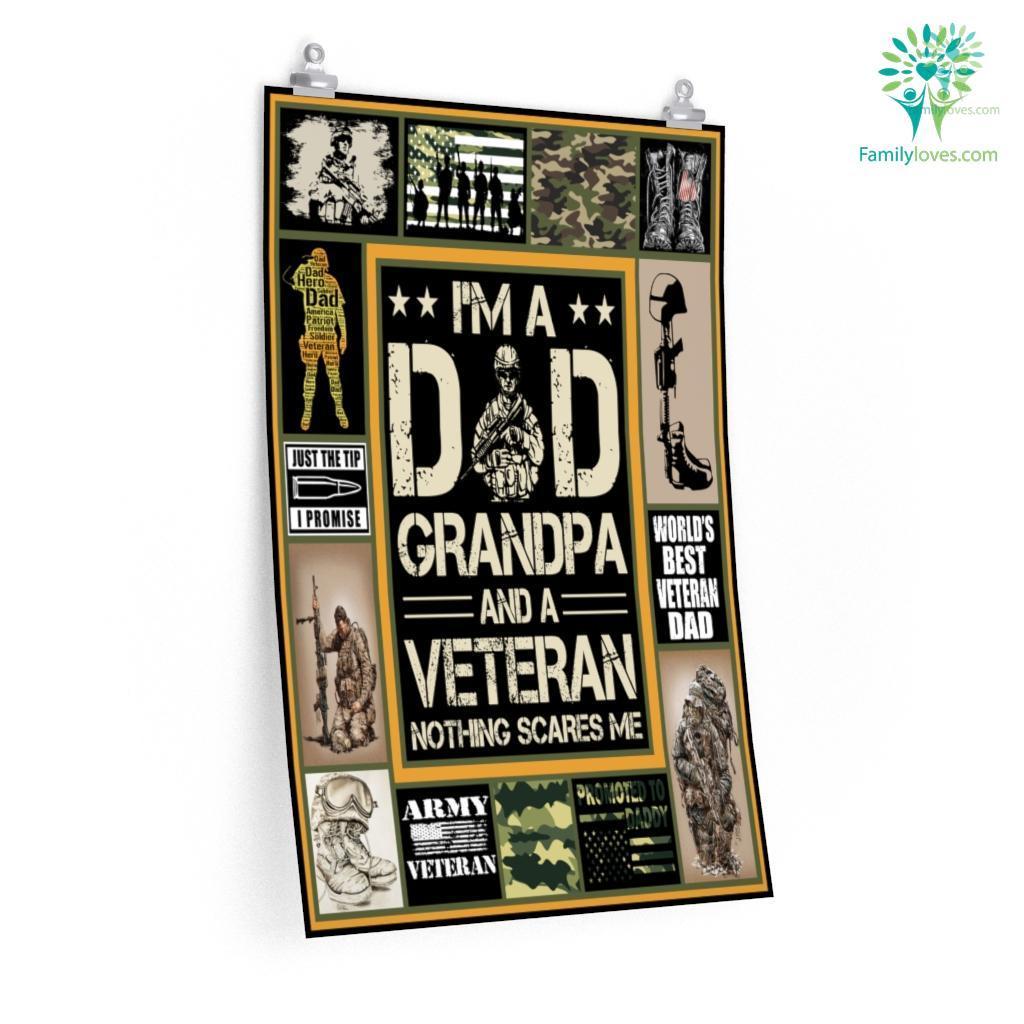 Veteran Dgrandpa All Season Postersa Familyloves.com