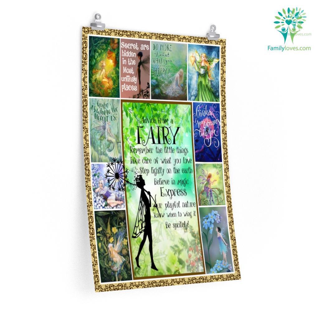 Go Where Your Dreams Take You, Fairy Np Posters Familyloves.com