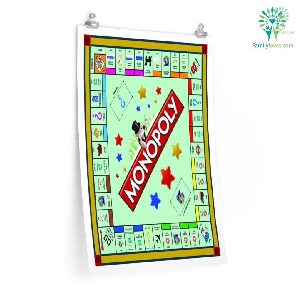 Monopoly Board Game Posters Familyloves.com