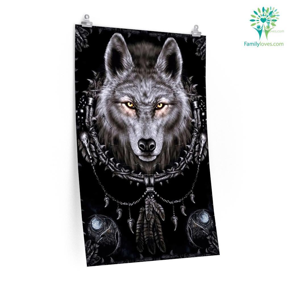 Black Wolf Posters Familyloves.com