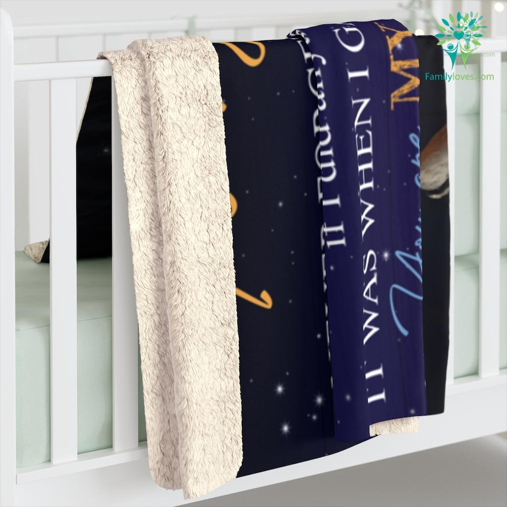 Wolf To My Wife Never Forget That I Love You Sometimes It_S Hard To Find Words Sherpa Fleece Blanket Familyloves.com