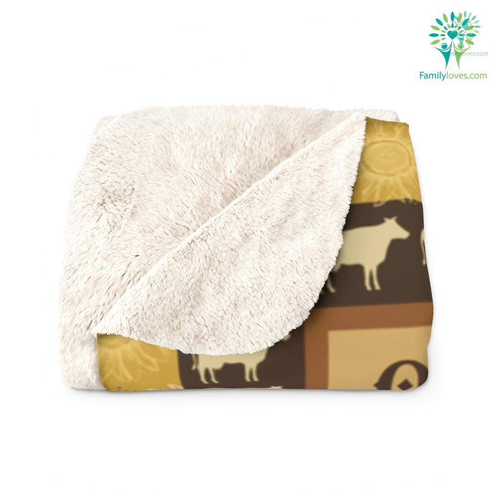 Once Upon A Time There Was A Girl Sherpa Fleece Blanket Familyloves.com