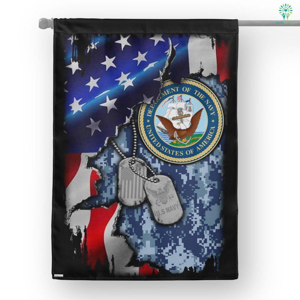United States Navy House Flag Familyloves.com