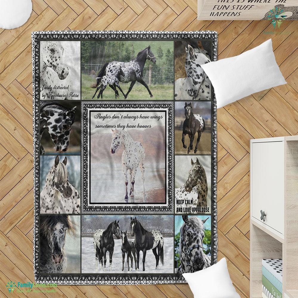 Appaloosa D Printing Qdt Blanket 5 Familyloves.com