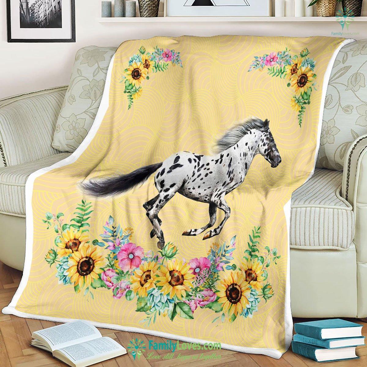 Appaloosa Flower Blanket 6 Familyloves.com