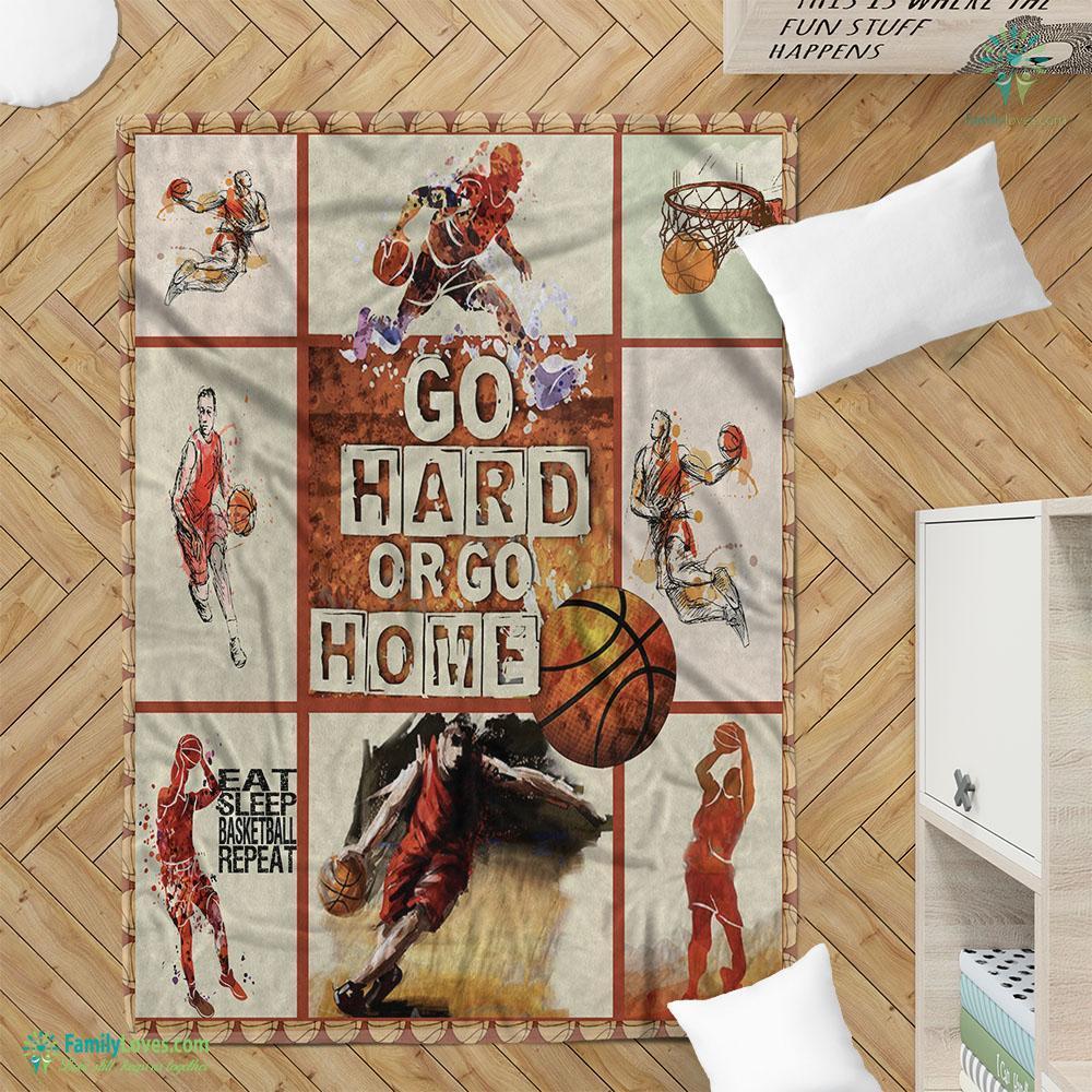 Basketball Blanket 1 Familyloves.com
