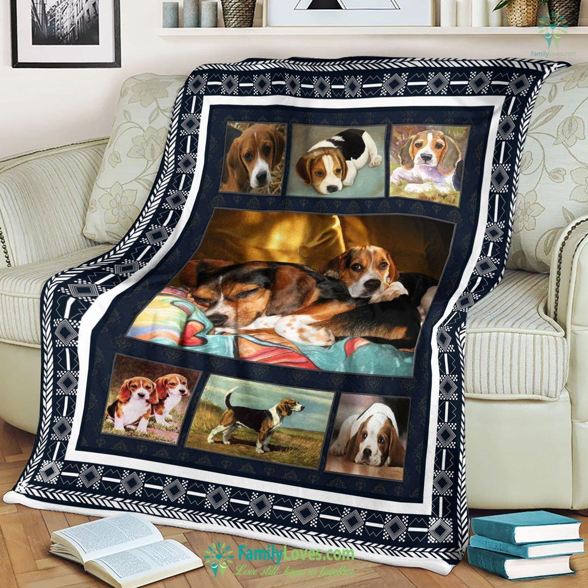 Beagle Blanket 18 Familyloves.com