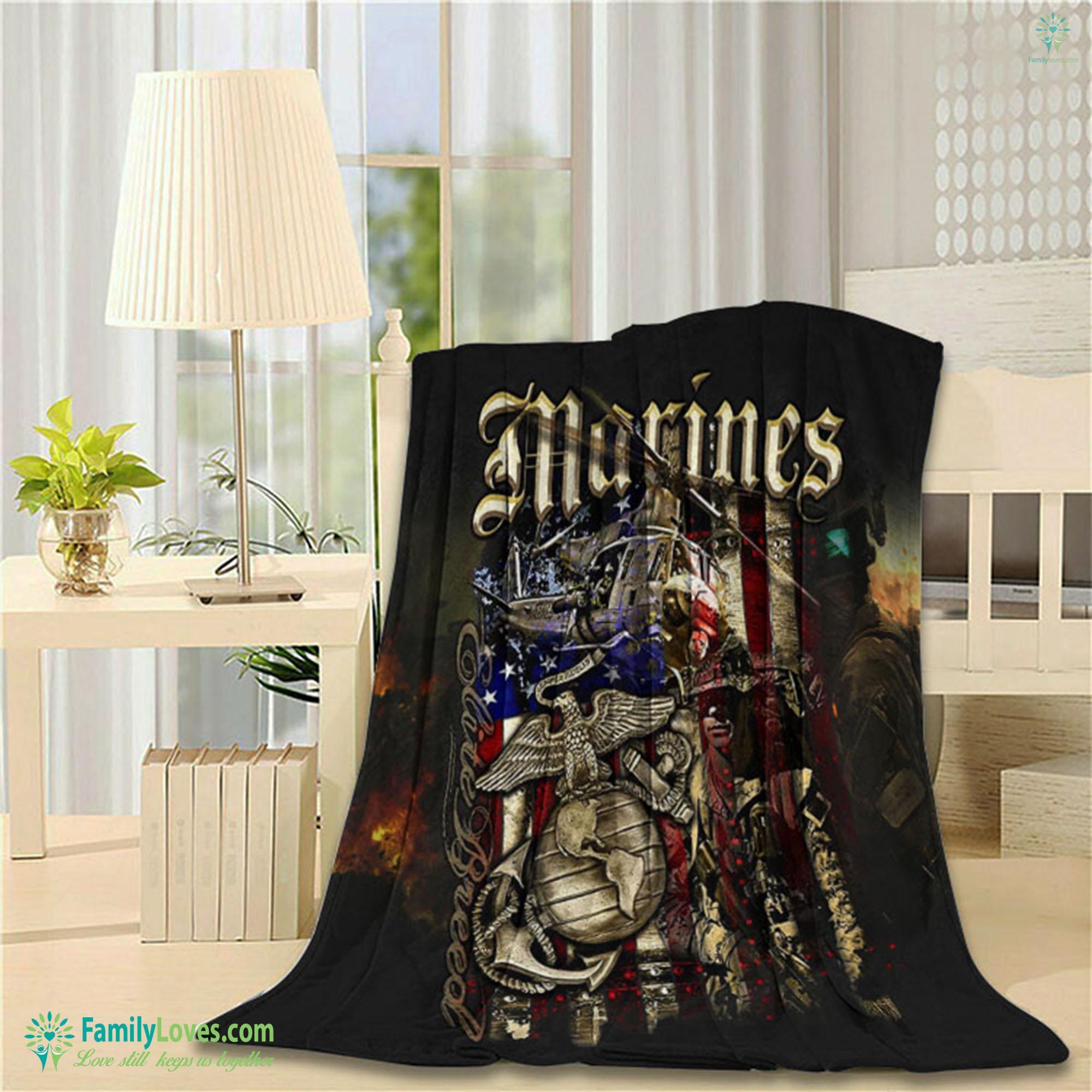 Bedding Usmc Bedding Set Blanket 2 Familyloves.com