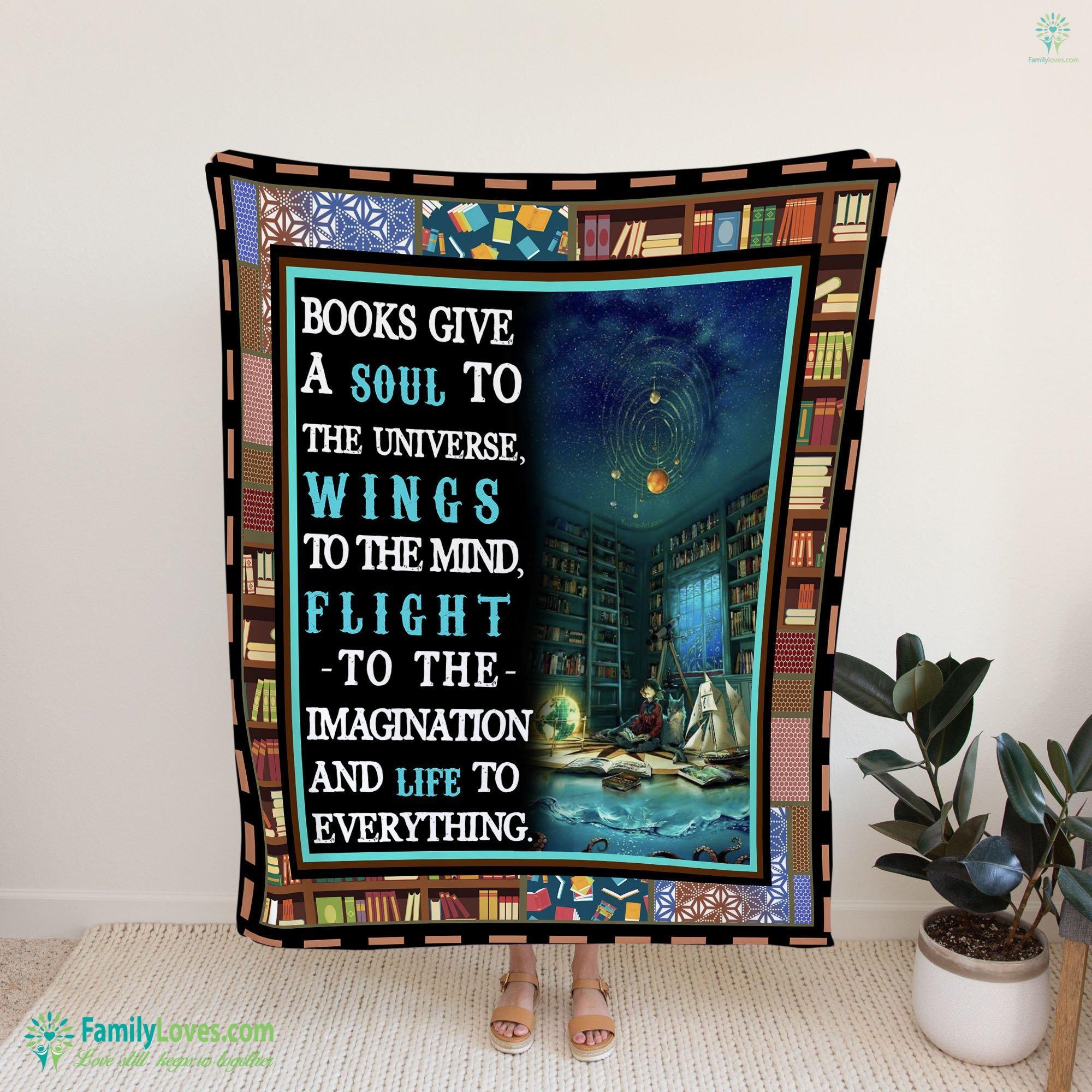 Book Lover Blanket 7 Familyloves.com