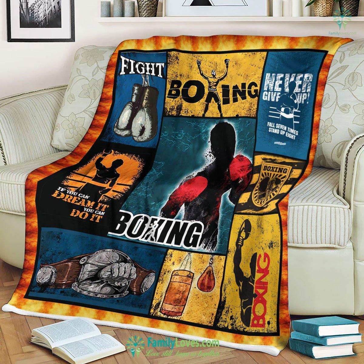 Boxing Blanket 3 Familyloves.com