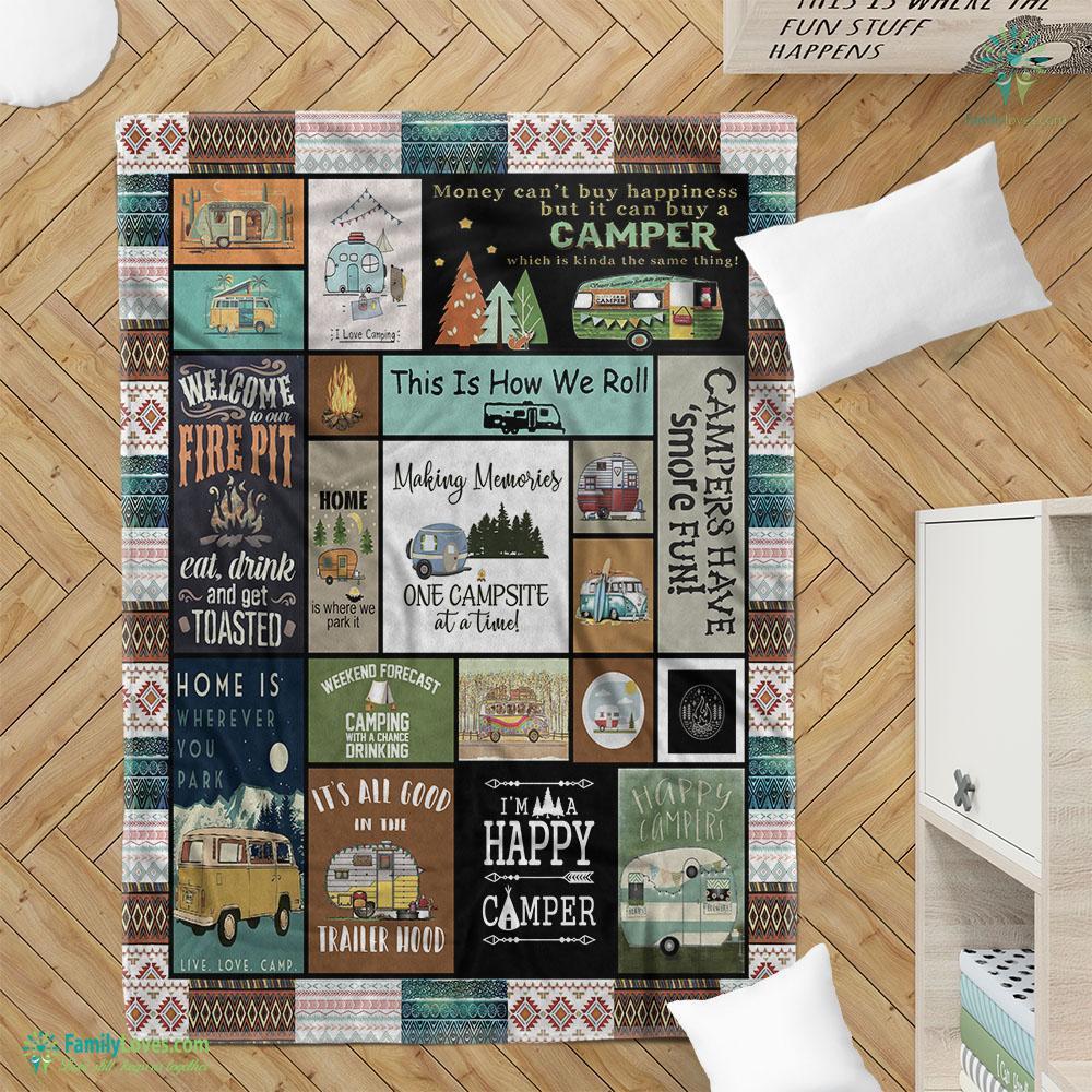 Camping Ver Blanket 6 Familyloves.com