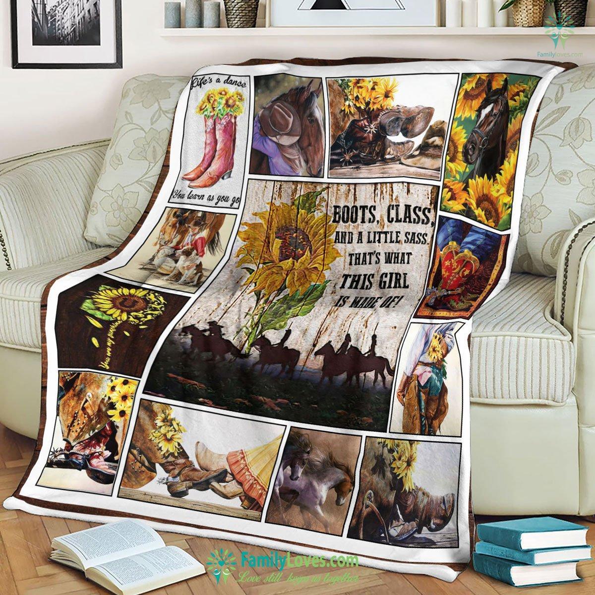 Cowgirl Pnct Blanket 23 Familyloves.com