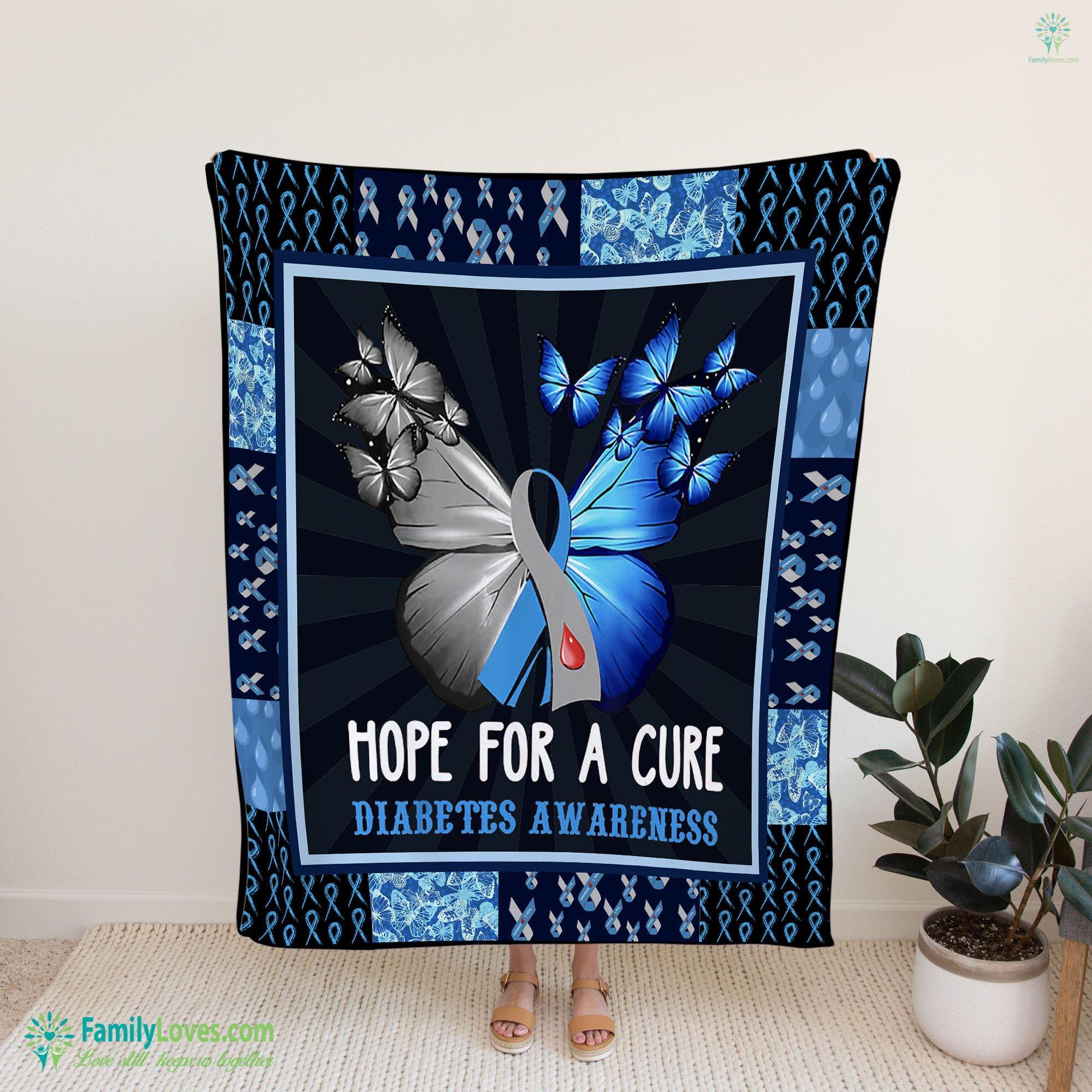 Diabetes Blanket 3 Familyloves.com