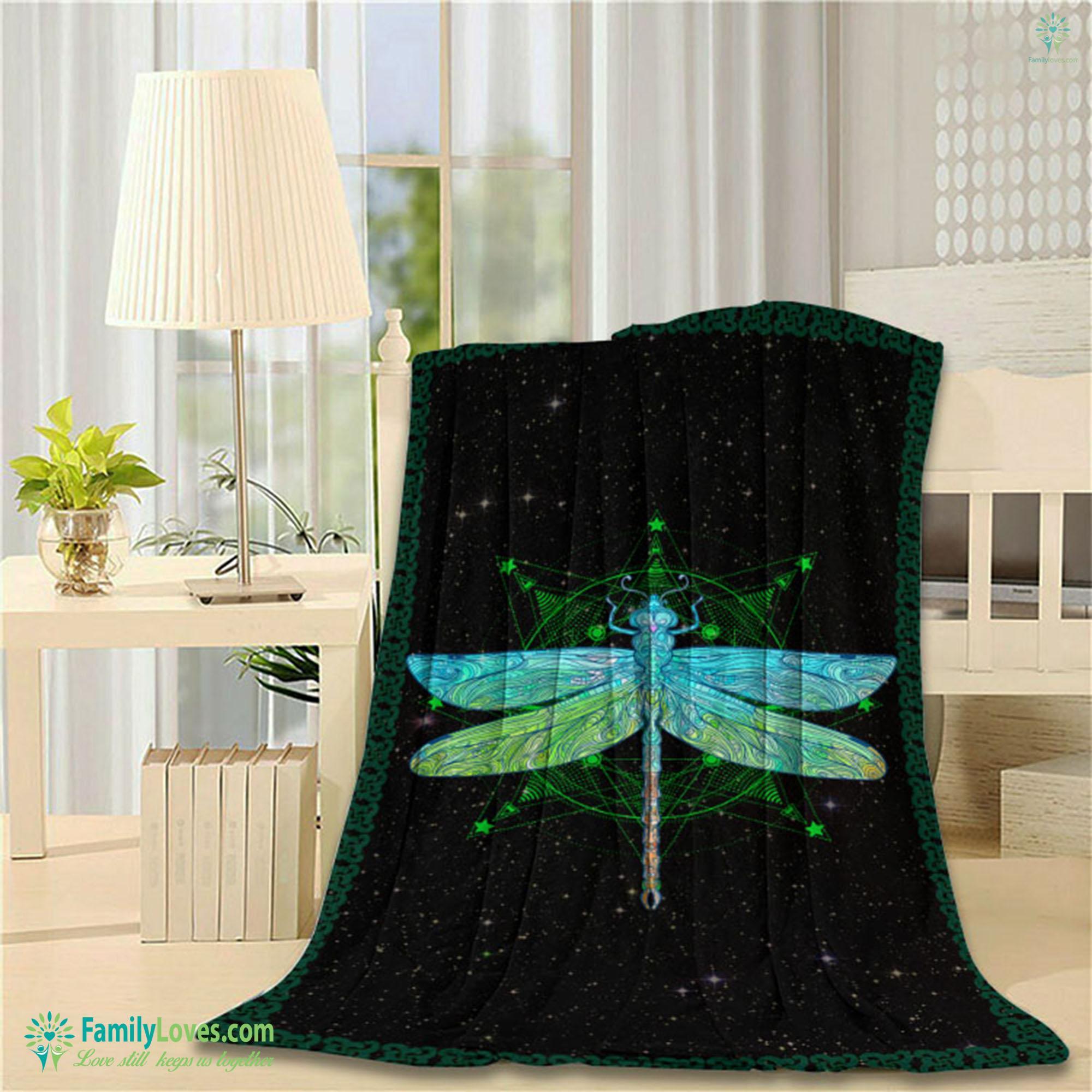 Dragonfly Bt Blanket 5 Familyloves.com