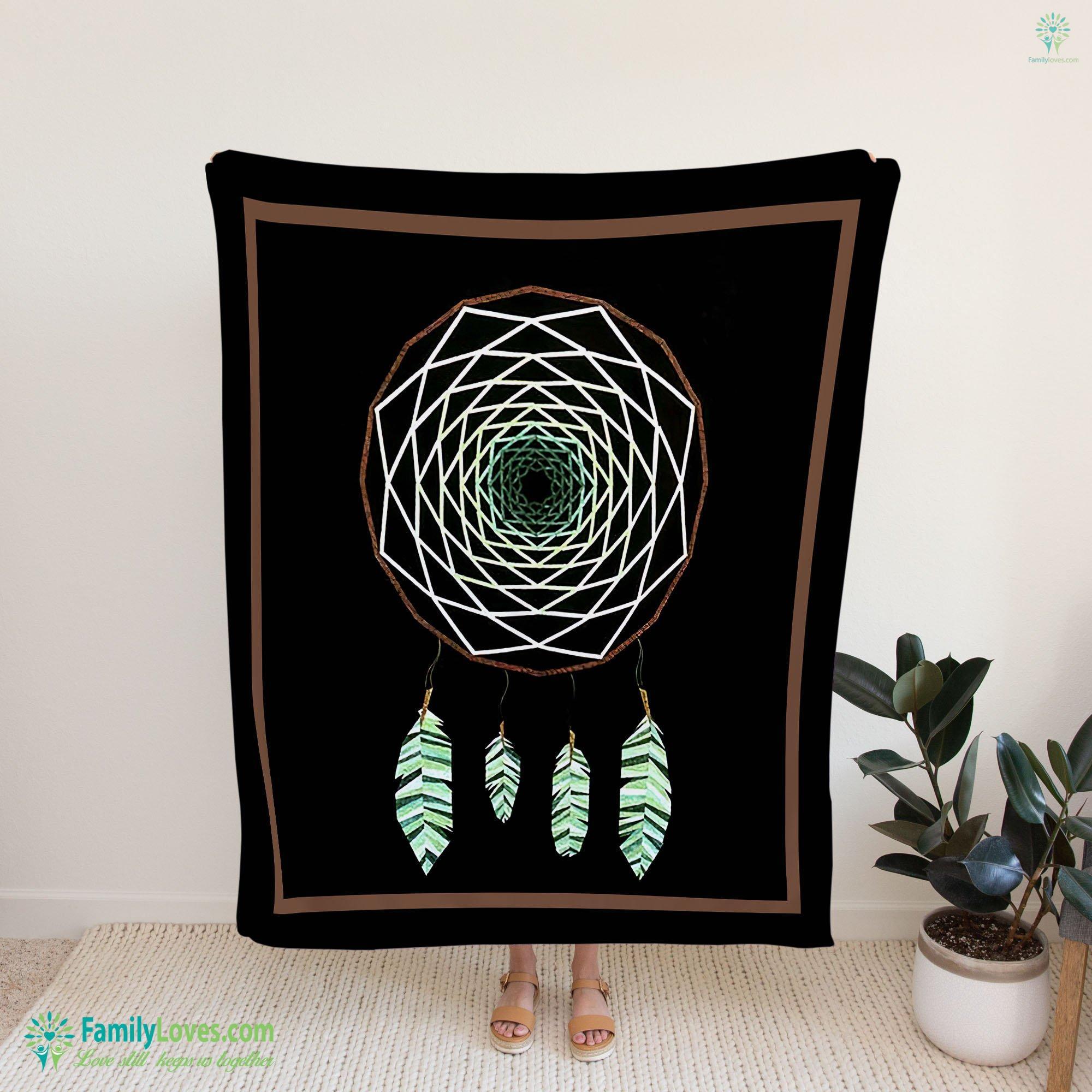 Dreamcatcher Blanket 11 Familyloves.com