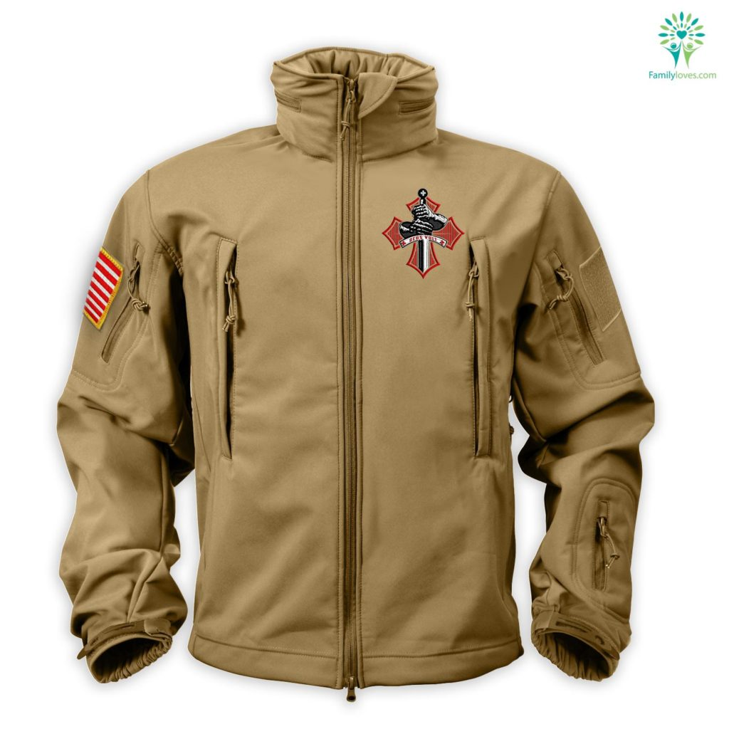 Deus Vult Solf Sell Embroidered Jacket Free Shipping Familyloves.com