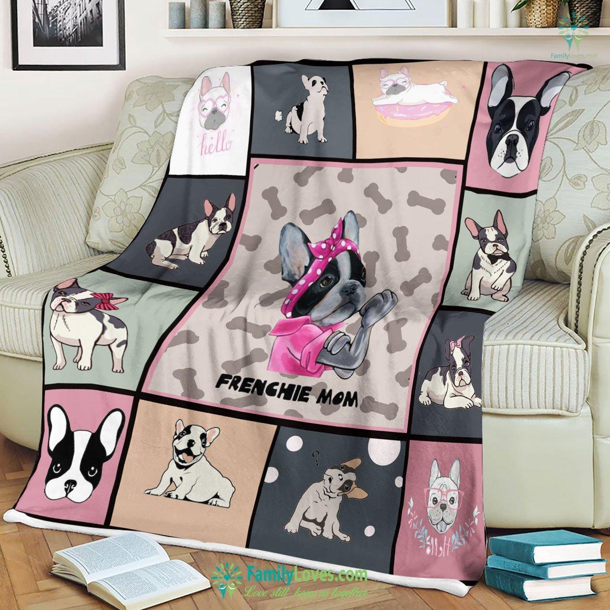French Bulldog Blanket 18 Familyloves.com