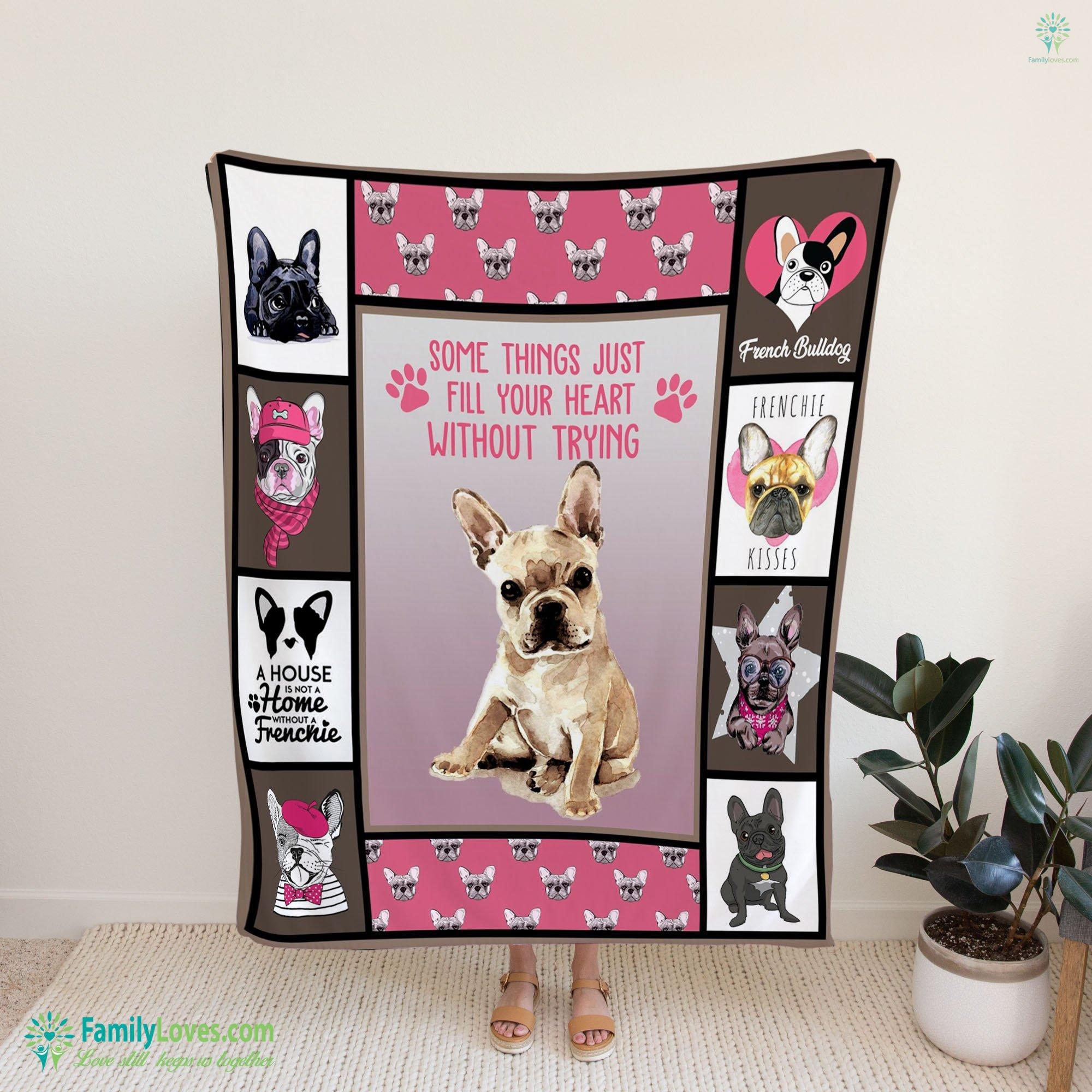 French Bulldog Blanket 17 Familyloves.com