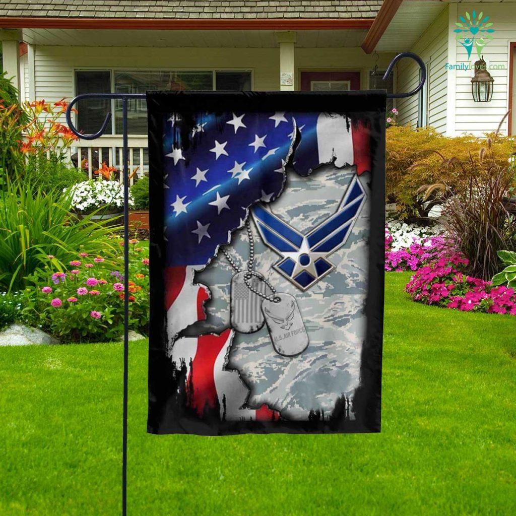 United States Air Force Garden Flag Familyloves.com